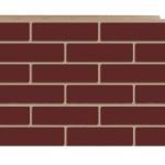 Фасадная панель кирпич коричневый